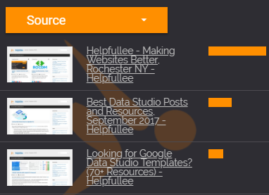How To Add Page Preview Screenshots to Data Studio Reports