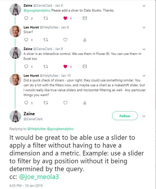 How To Hack a Slider Selector in Google Data Studio - Helpfullee