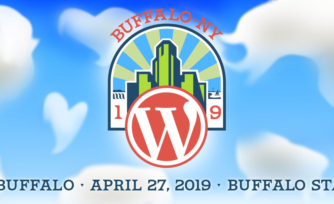 WordCamp Buffalo 2019 –  Saturday, April 27 Buffalo State College